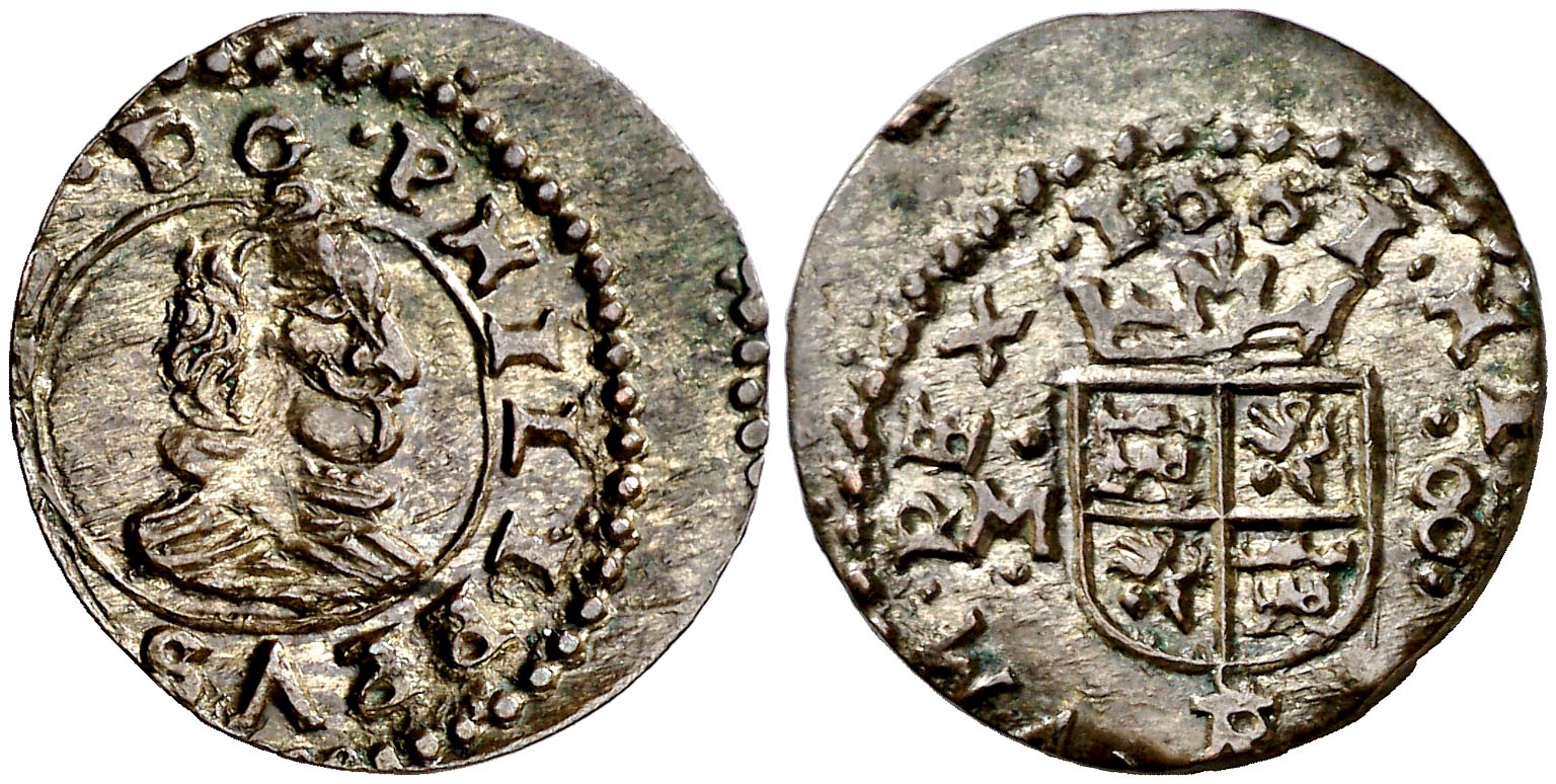 8 maravedís Felipe IV. 1661M. Trujillo  2-1