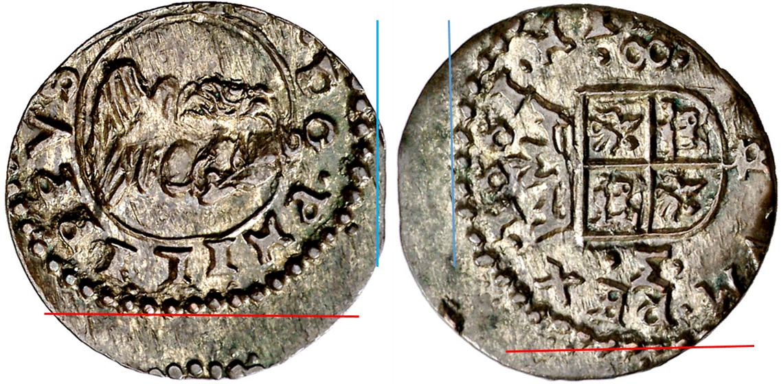 8 maravedís Felipe IV. 1661M. Trujillo  Imagen5-1